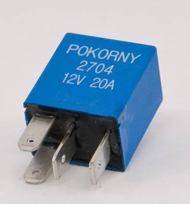 Pokorny - 12 Volt Micro Relay SPST Non Suppressed