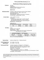 Bracket - Resistor-Suppression - Pokorny - 12 Volt Weatherproof Skirted SPST 280 footprint Bracket Resitor