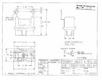 9788001 GM A/C Can Relay SPST
